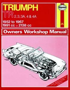 Bilde av Haynes, Triumph TR2, TR3, TR3A,
