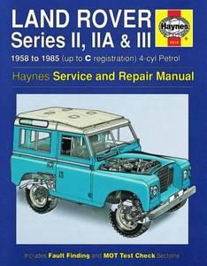 Bilde av Land Rover Series II, IIA & III