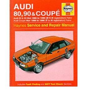 Bilde av Audi 80, 90 (Oct 86-90) D to H,