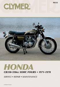 Bilde av Clymer Manuals Honda CB350-550cc