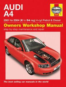 Bilde av Audi A4 2001 to 2004 (X to 54