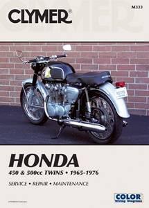 Bilde av Clymer Manuals Honda CB/CL450 &
