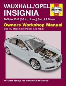 Bilde av Haynes, Vauxhall/Opel Insignia