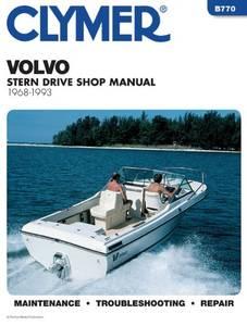 Bilde av Clymer Manuals Volvo Penta Stern