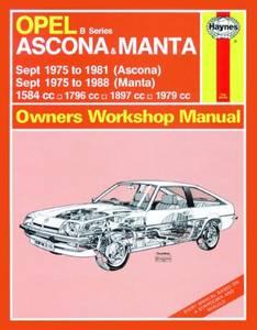 Bilde av Haynes, Opel Ascona and Manta (B