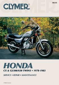 Bilde av Clymer Manuals Honda CX and