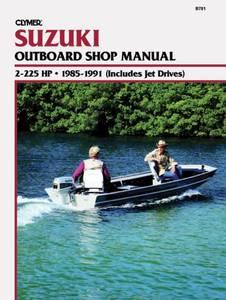 Bilde av Clymer Manuals Suzuki 2-225 HP,
