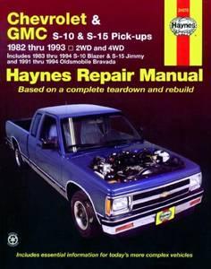 Bilde av Chevrolet S-10 and GMC S-15