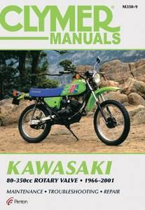 Bilde av Clymer Manuals Kawasaki 80-350cc