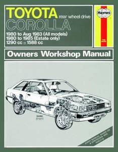 Bilde av Toyota Corolla (80 - 85) up to C