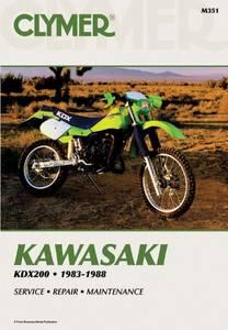 Bilde av Clymer Manuals Kawasaki KDX200,
