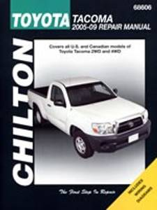 Bilde av Toyota Tacoma 2005-09, Chilton