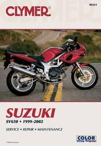 Bilde av Clymer Manuals Suzuki SV650,