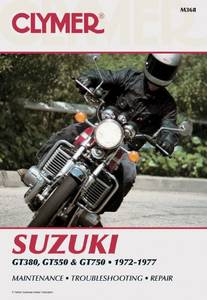 Bilde av Clymer Manuals Suzuki GT380,