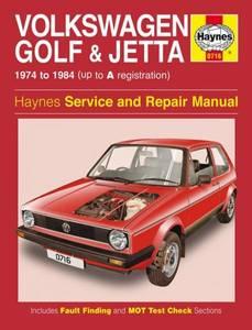 Bilde av Volkswagen Golf and Jetta Mk 1