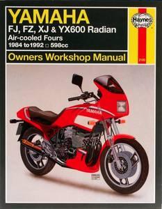 Bilde av Yamaha FJ, FZ, XJ and YX600