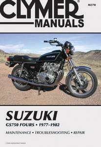 Bilde av Clymer Manuals Suzuki GS750