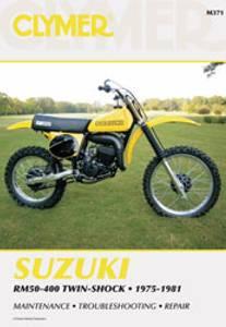 Bilde av Clymer Manuals Suzuki RM50-400