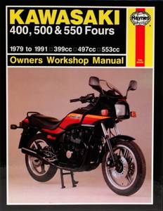 Bilde av Kawasaki 400, 500 & 550 Fours