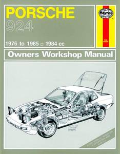 Bilde av Haynes, Porsche 924 and 924