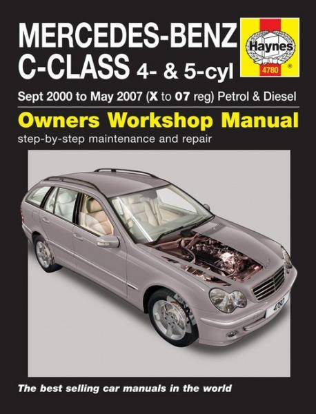 Mercedes-Benz C-Class Petrol & Diesel (Sept 00 - May 07) X to 07