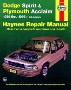 Bilde av Dodge Spirit and Plymouth
