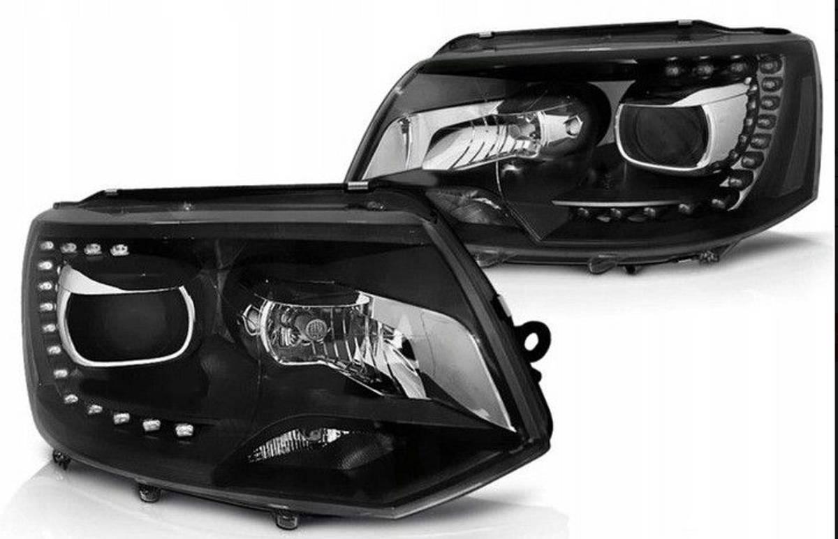 Frontlykter sett H7/H7 LED DRL
