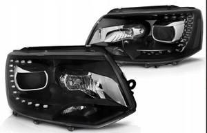Bilde av Frontlykter sett H7/H7 LED DRL