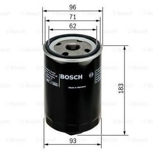Bilde av Oljefilter Bosch 2.4D, 2.5, 2.5 TDI