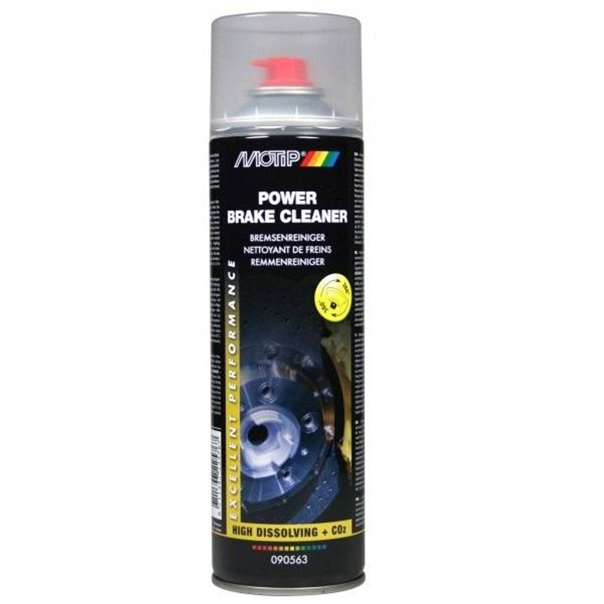 Bremserengjøring Motip Power Brake Cleaner 500ml spray