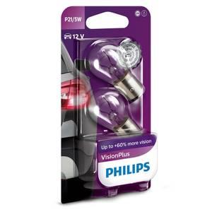 Bilde av P21/5W | PHILIPS VISIONPLUS +60%