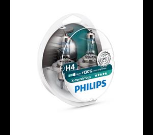 Bilde av H4   PHILIPS X-TREME VISION +130%