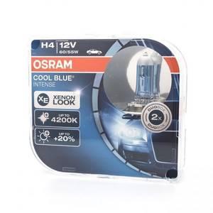Bilde av H4   OSRAM COOL BLUE INTENSE