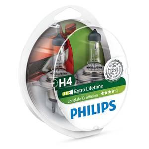 Bilde av H4   PHILIPS LONGLIFE ECOVISION