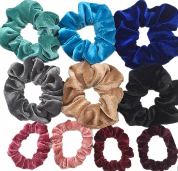 Bilde av 10pk Scrunchies/hårstrikker