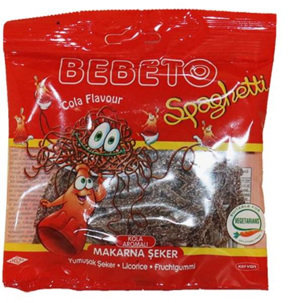 Bilde av Bebeto Spaghetti Cola 80g