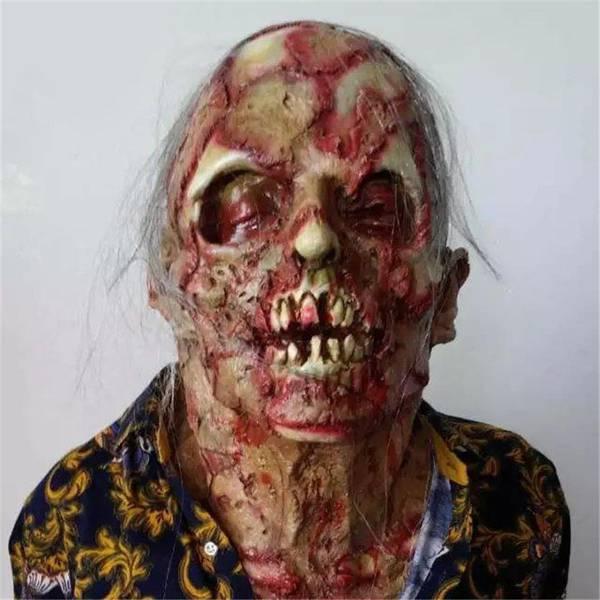 Bilde av Eksklusiv Zombiemaske