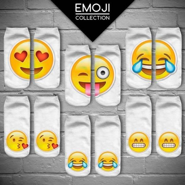 Bilde av Morsomme Emoji Sokker
