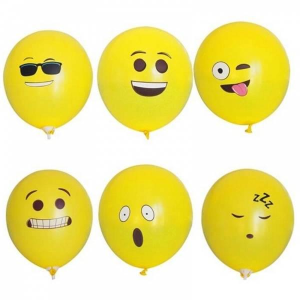 Bilde av Emoji Ballonger 20pk
