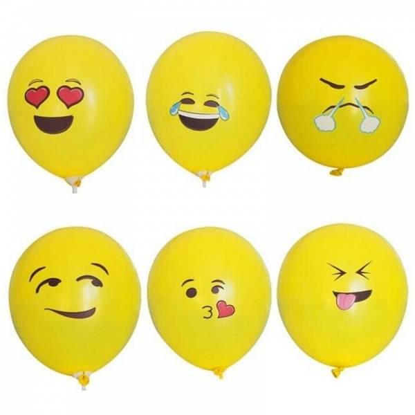 Emoji Ballonger 20pk