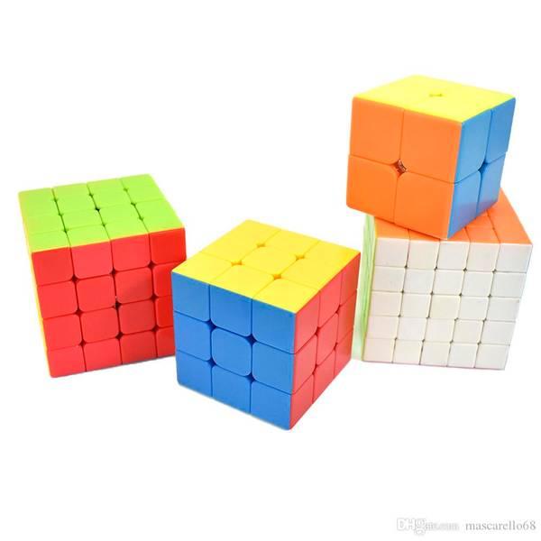 Bilde av Rubiks kube-sett 4 Kuber- High Speed