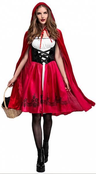 Bilde av Flott Rødhette Kostyme