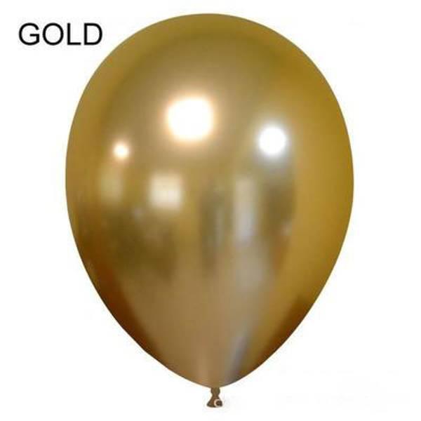 Metallic Ballonger 50pk 30cm