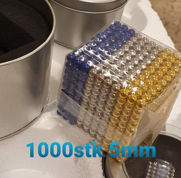 Magnet-kuler 216/1000stk- Magnet Puzzle