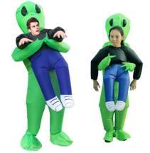 Oppblåsbart Romvesen Kostyme Barn/Voksen