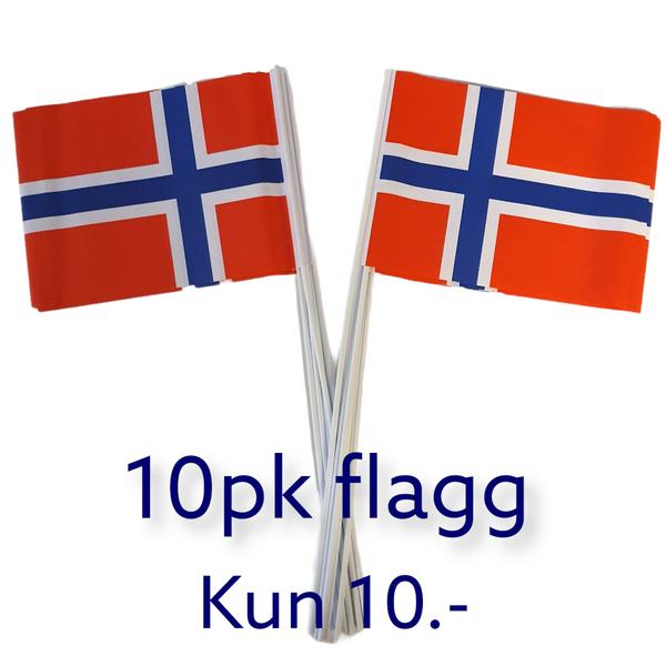 Bilde av Flagg 10pk