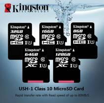 Kingston Minnekort 32/64/128GB