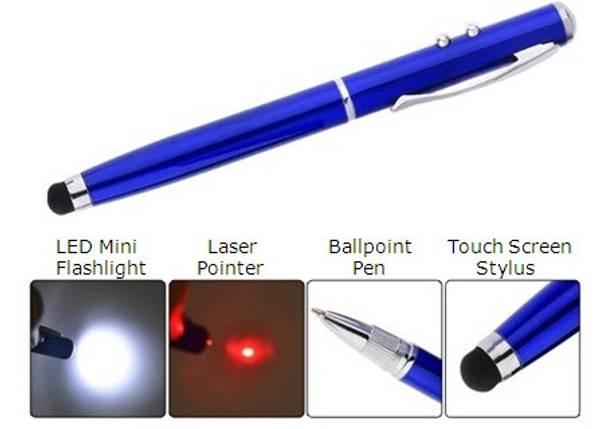 Bilde av Smart 4i1 Stylus-Laser-Kulepenn