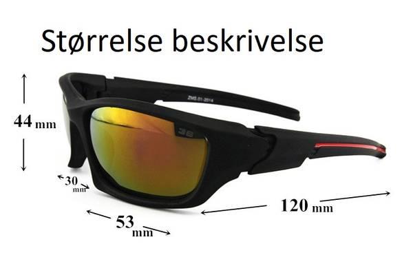 Bilde av Polarisert- Multisport- Fiske & Fritidsbrille