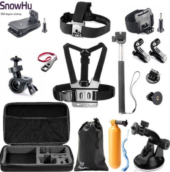 Bilde av Utstyrssett for GoPro kameraer sett 5- SnowHu